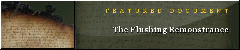 Flushing Remonstrance