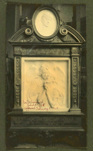 Original Tombs Angel Monument. Collection of the Public Design Commission.