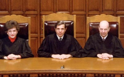 Judges on the Court of Appeals Bench, 1987
