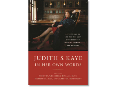 Judith S. Kaye In Her Own Words