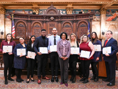 Winter 2020 Garfinkel Essay Scholarship Winners
