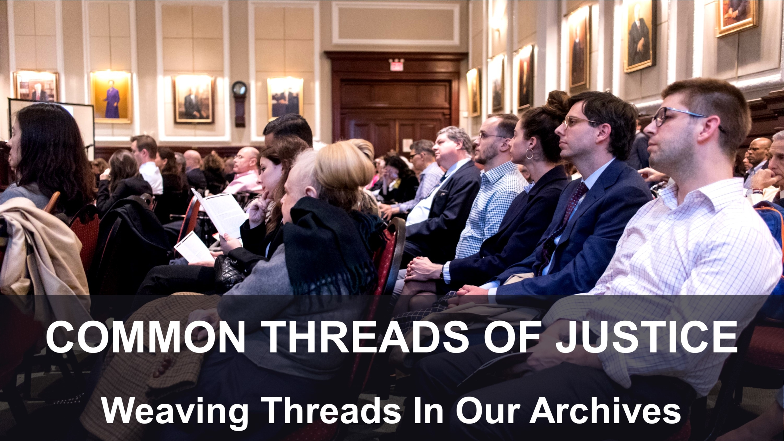 Common Threads of Justice: Chatting & Blogging with Judicial Notice Authors