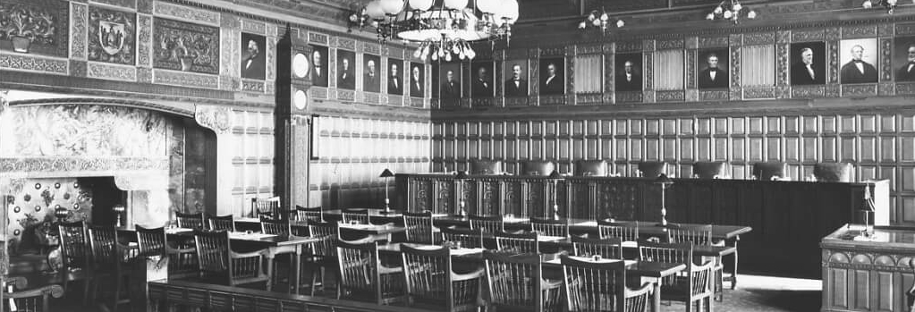 Court of Appeals Richardson Courtroom 1800s
