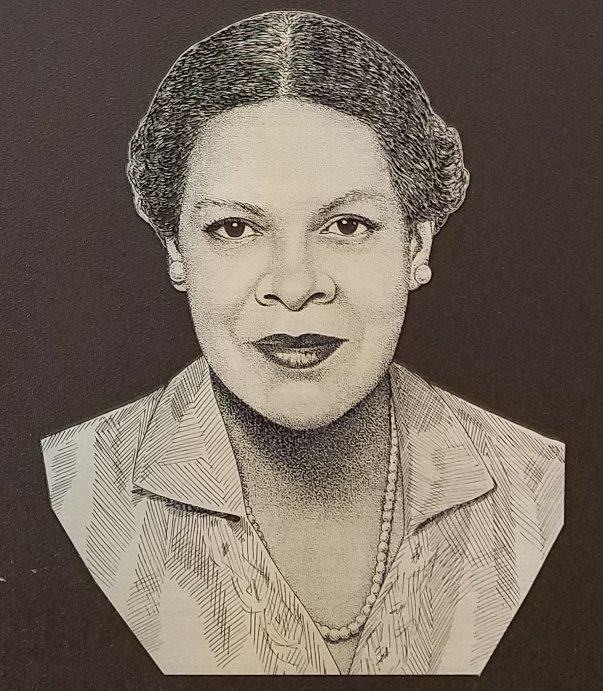 Image of the plaque dedicated to ADA Eunice Carter at the Manhattan DA's Office