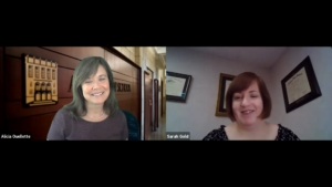 Interview with Dean Alicia Ouellette and Sarah Gold