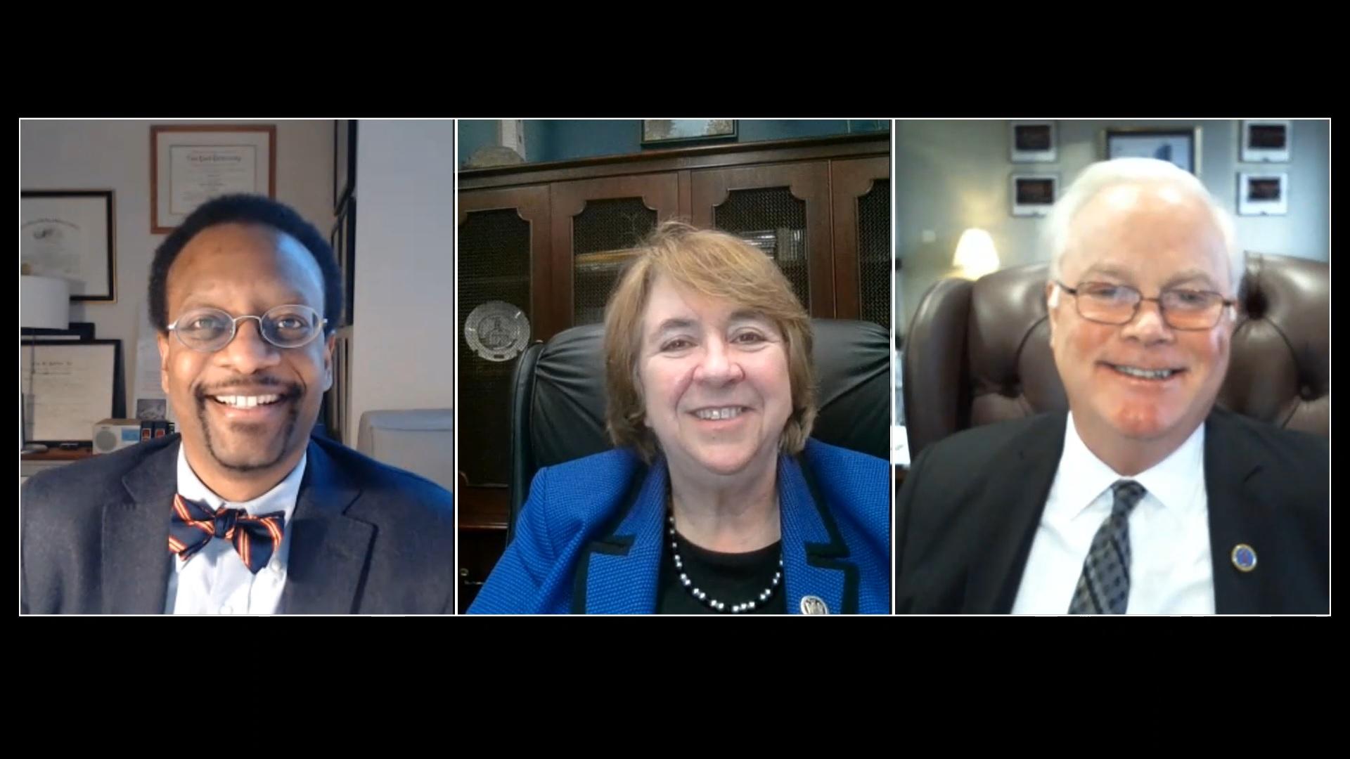 Hon. Elizabeth Garry, Hon. Gerald Whalen, and Prof. Troy McKenzie