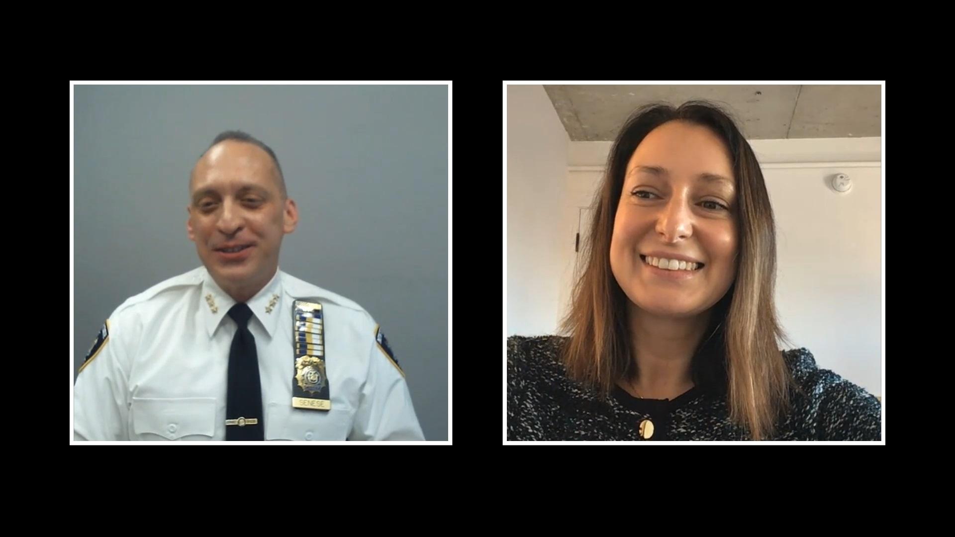 Chief Michael Senese & Danielle C. Quinn
