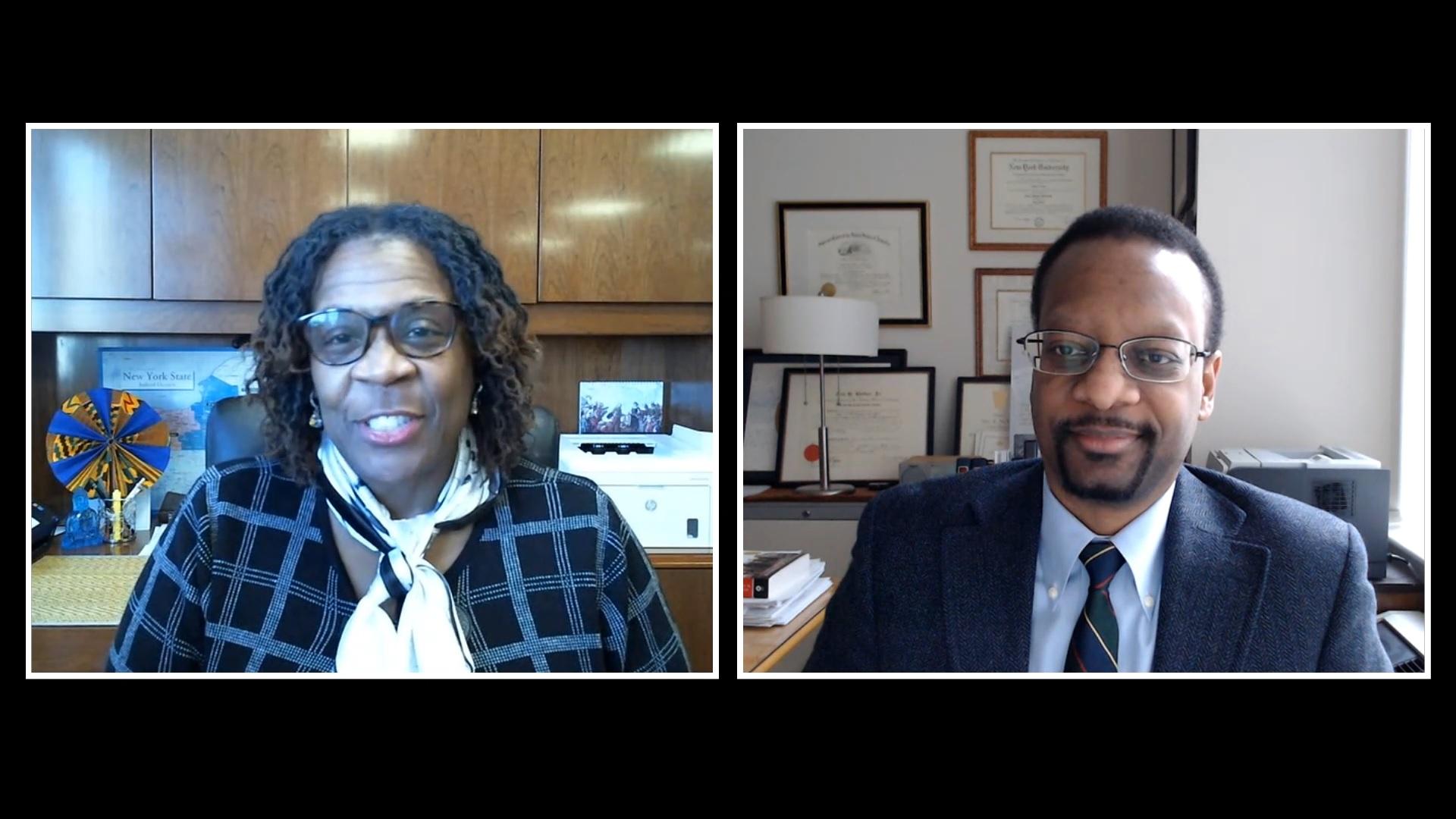 Hon. Edwina Mendelson & Prof. Troy McKenzie