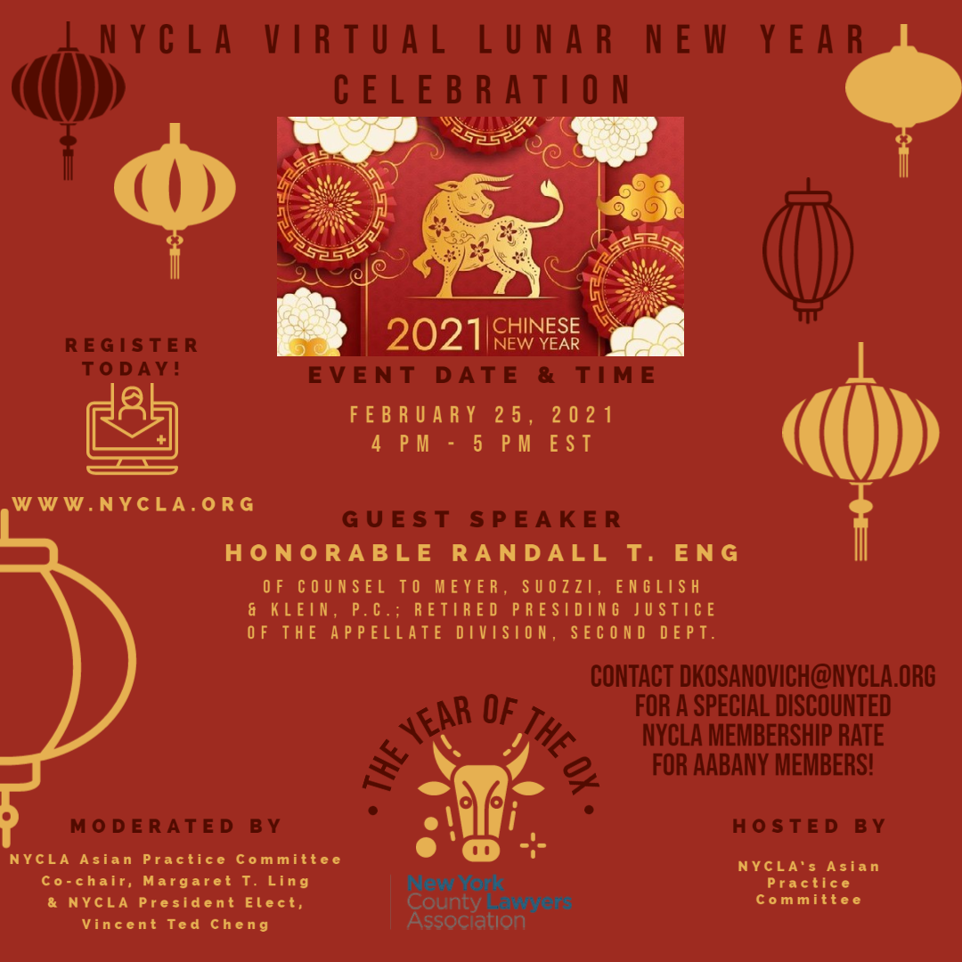 NYCLA's Lunar New Year Celebration: The Year of the Ox