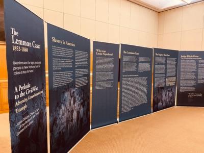 Lemmon Slave Case Travelling Exhibit