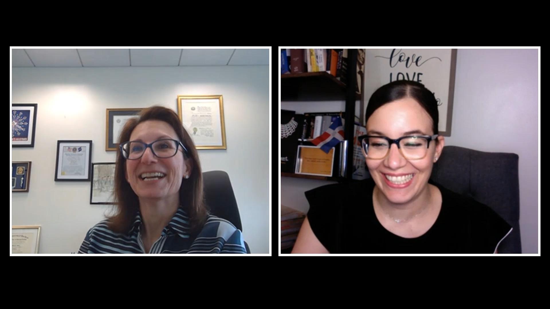 Interview with Hon. Donna-Marie E. Golia & Miguelina Camilo
