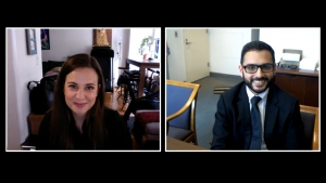 Interview with Hon. Sergio Jimenez & Thania Charmani