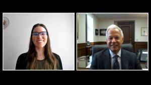 Interview with Hon. Mark A. Montour & Allison Morey