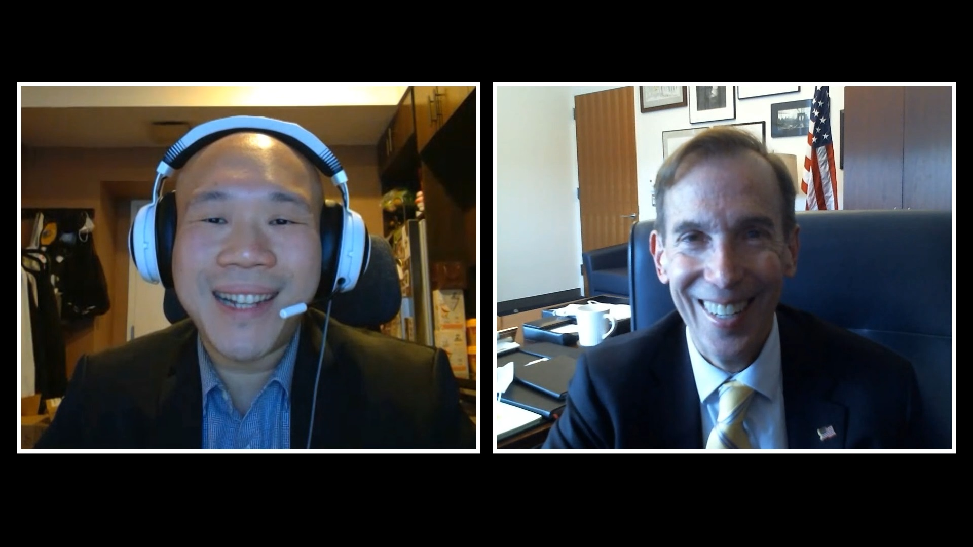 Interview with Hon. Ralph J. Porzio & Jacob Chen